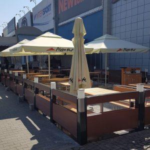 Amenajari terase restaurant